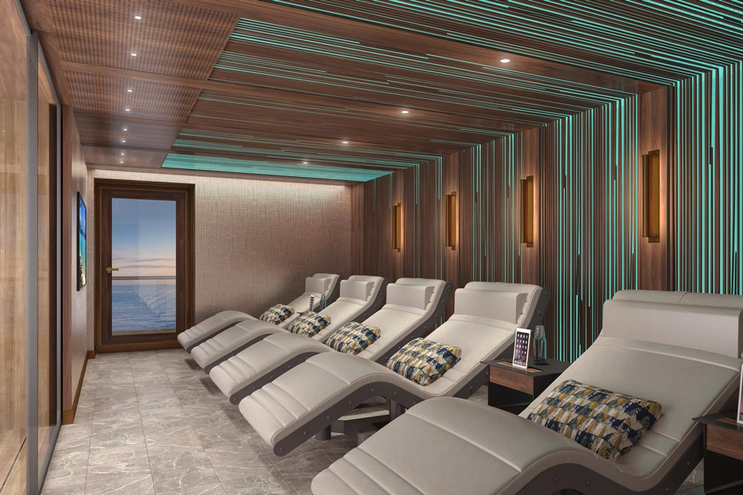 Crystal Life Spa: Relaxation Area